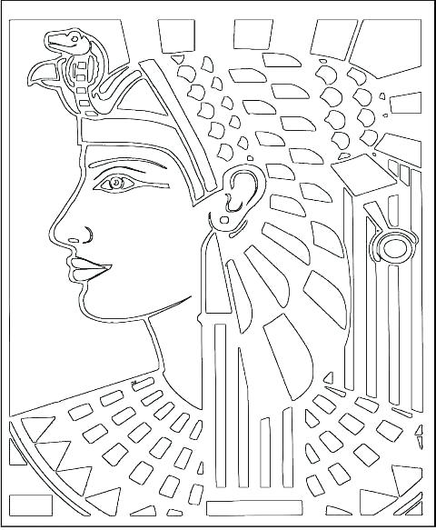 480x583 Pharaoh Coloring Pages Coloring Pages Printable Black And White