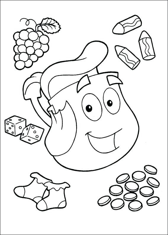 567x794 Dora Halloween Coloring Pages Love Nick Jr Coloring Pages
