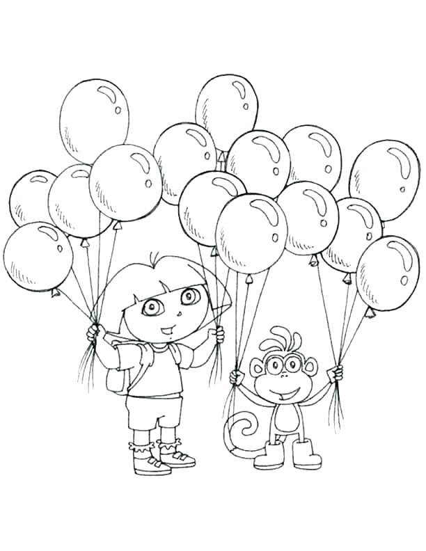 612x792 Dora Halloween Coloring Sheets Nick Jr Coloring Pages Coloring