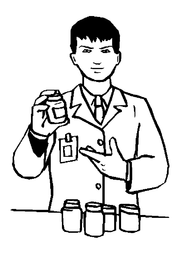 652x900 Pharmacist Coloring Pages