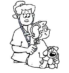 232x245 Surgery Coloring Sheet For Kids Before Surgery