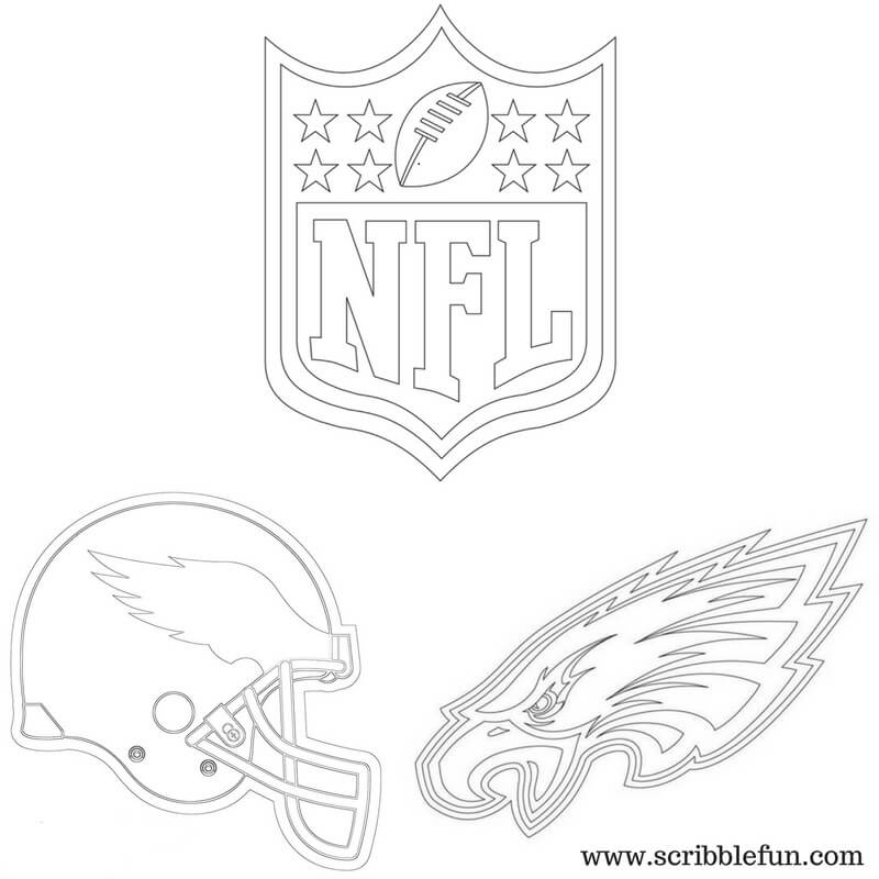 graphic relating to Philadelphia Eagles Printable Schedule named Philadelphia Eagles Coloring Webpages at  Cost-free