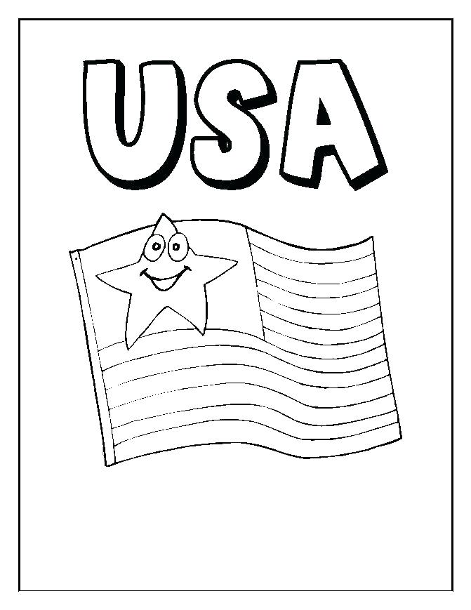 671x869 Us Symbols Coloring Pages Flag Coloring Page National Symbols