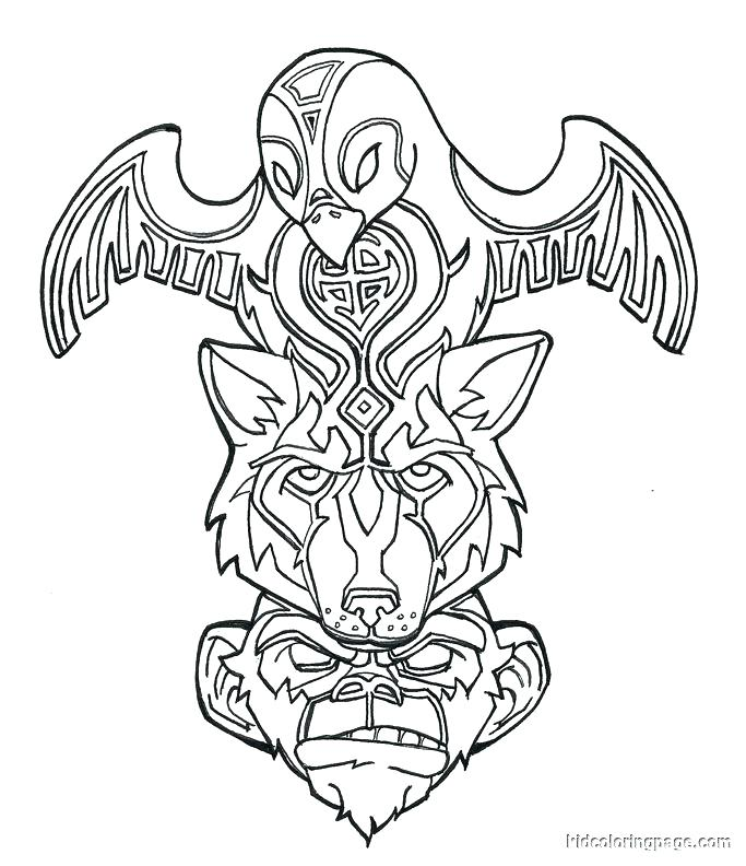 683x792 Us Symbols Coloring Pages Native Symbols Coloring Pages Printable