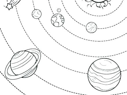 440x330 Free Solar System Coloring Pages Free Solar System Coloring Pages