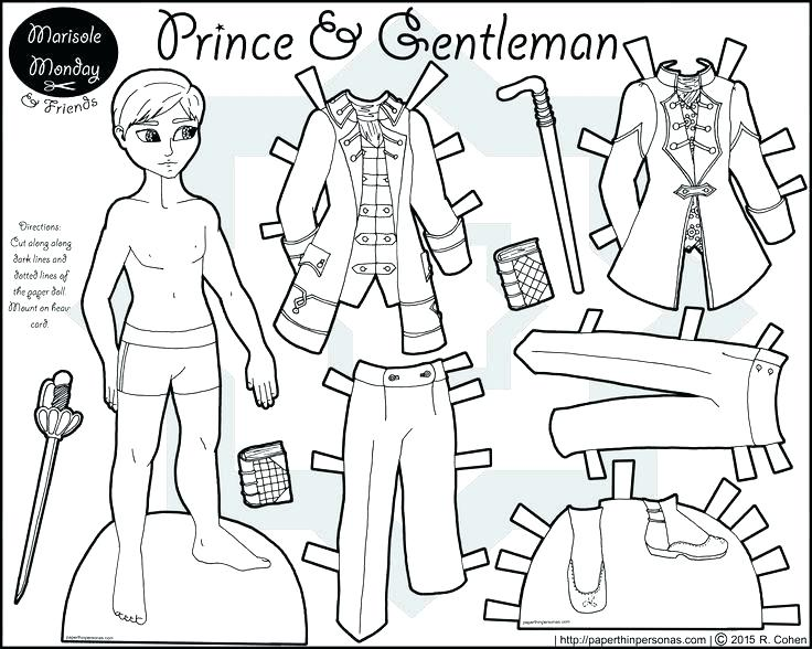 736x588 Online Paper Dolls Paper Dolls Coloring Pages A Printable Coloring