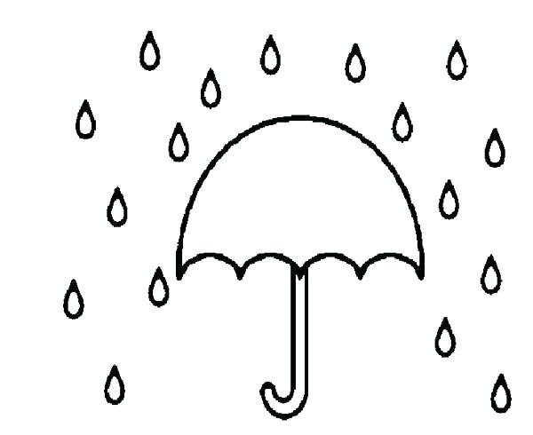 600x490 Umbrella Coloring Pages Coloring Pages Of Sun Bath Under Umbrella
