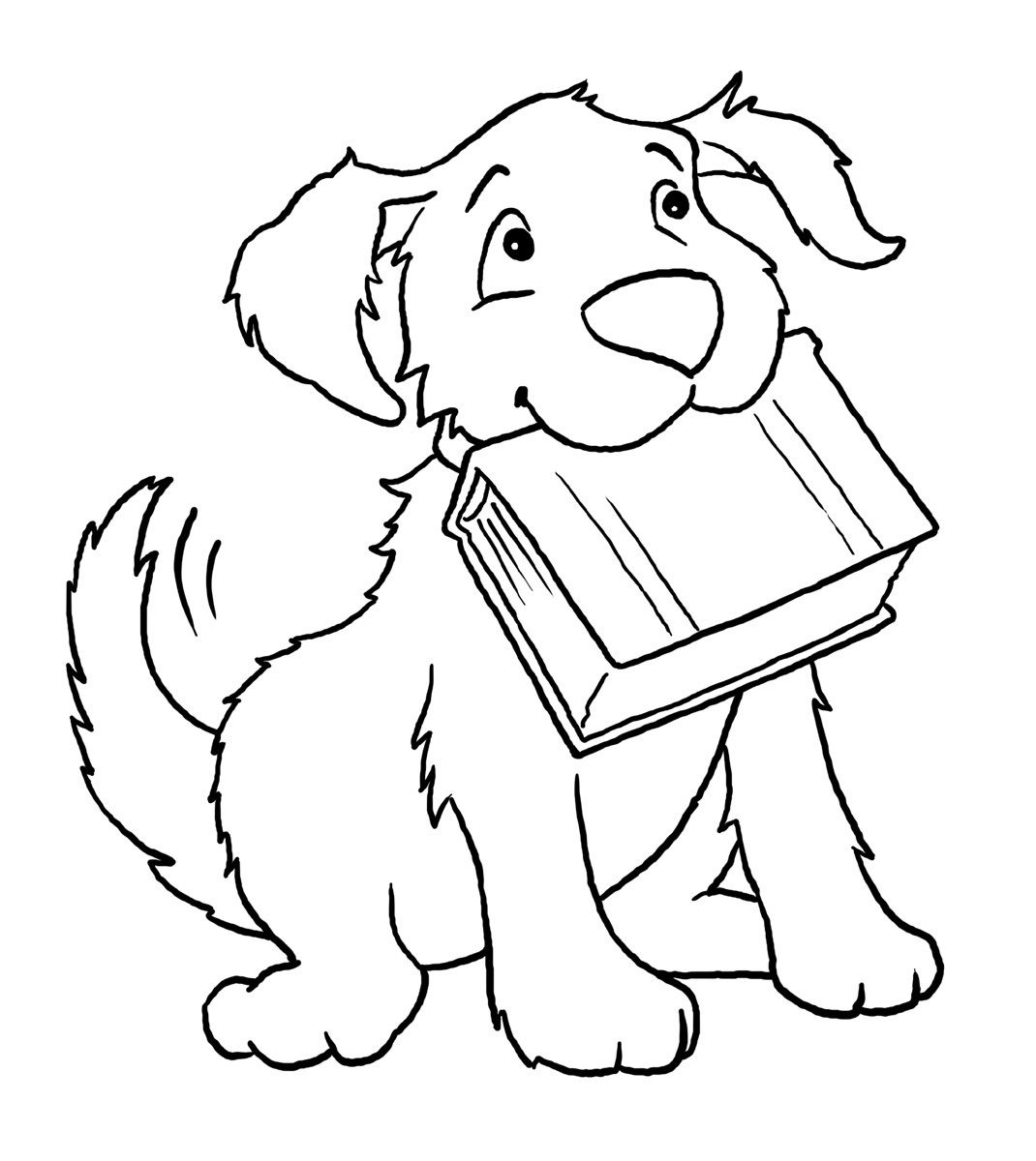 1070x1200 Dog Animal Coloring Book Pages Printable Activity Shelter