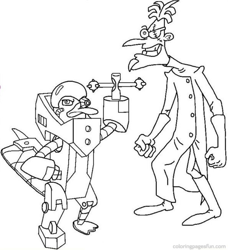 Phineas And Ferb Coloring Pages To Print At Getdrawings Com