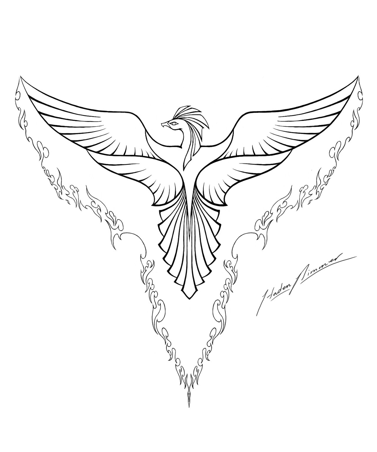 1280x1536 Inspiration Coloring Pages Phoenix Bird
