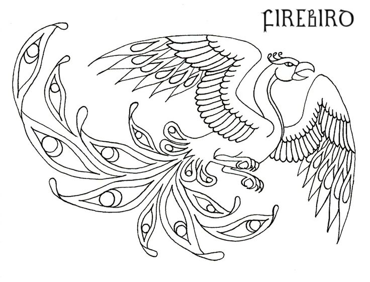 736x561 Phoenix Coloring Pages Bltidm Inside