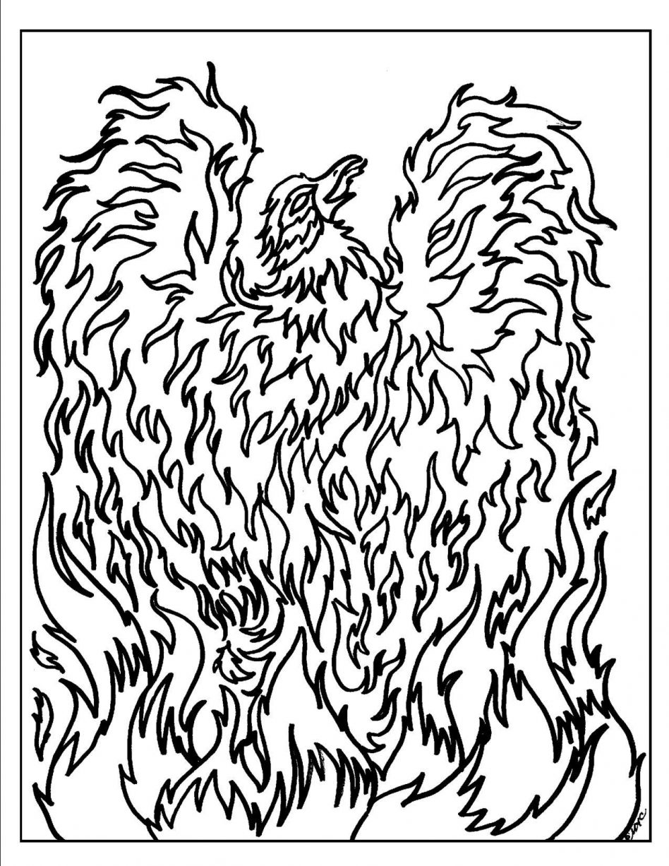 948x1227 Jean Grey Phoenix Free Coloring Page Adults Movies Superheros