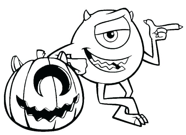 600x436 Happy Halloween Sign Coloring Pages Vanda
