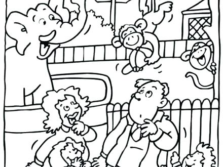 440x330 Zoo Coloring Pages Amazing Zoo Coloring Pages Zoo Phonics Coloring