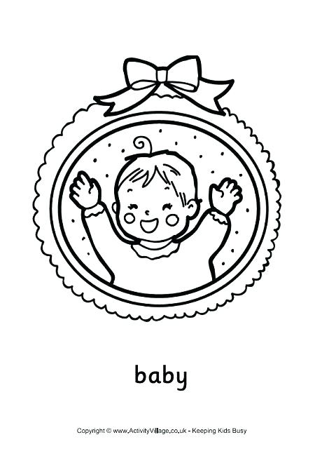 460x650 Baby Color Pages Baby Color Pages Baby Frame Colouring Page