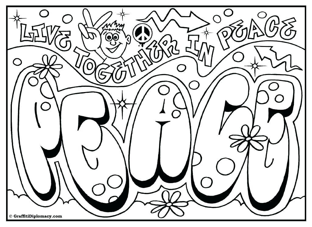 1024x745 Fresh Graffiti Coloring Pages Or Free Graffiti Coloring Page Fresh