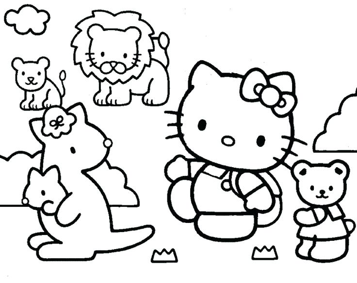 736x584 Education Coloring Pages Educational Coloring Pages Hello Kitty