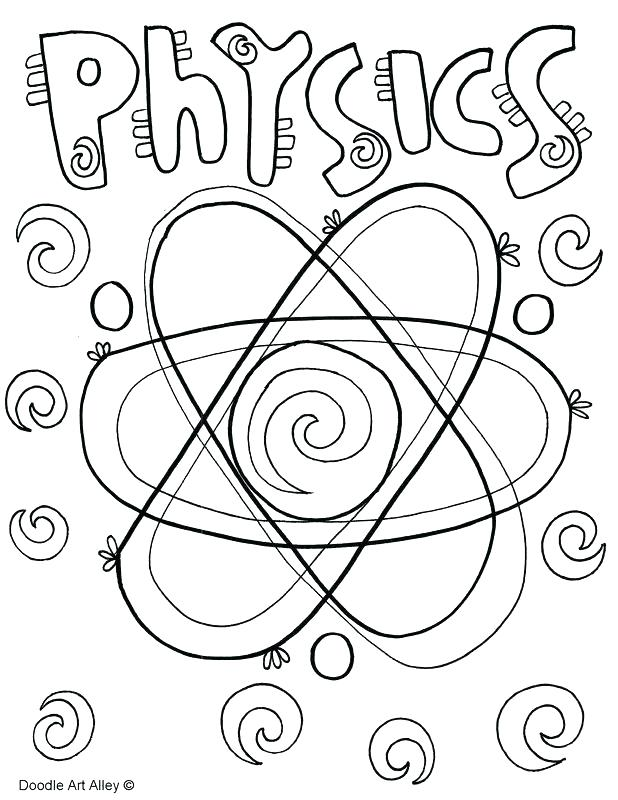 Physical Science Coloring Pages