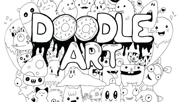 585x329 Doodling Coloring Pages Physics Coloring Page Picture Doodle Art