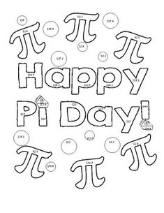 235x305 Free Pi Day Coloring Sheets