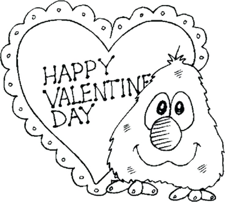 736x660 Free Printable Valentines Day Coloring Pages For Adults Activities