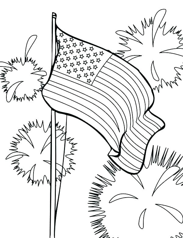 600x777 Independence Day Coloring Pages Independence Day Coloring Pi Day
