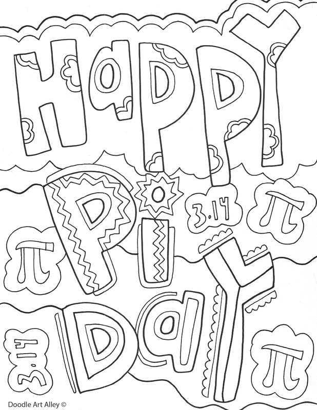 618x800 Pi Day Coloring Pages