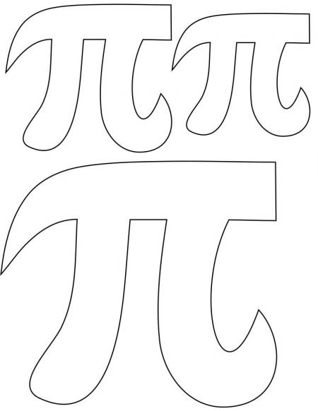 450x582 Pi Day Coloring Pages