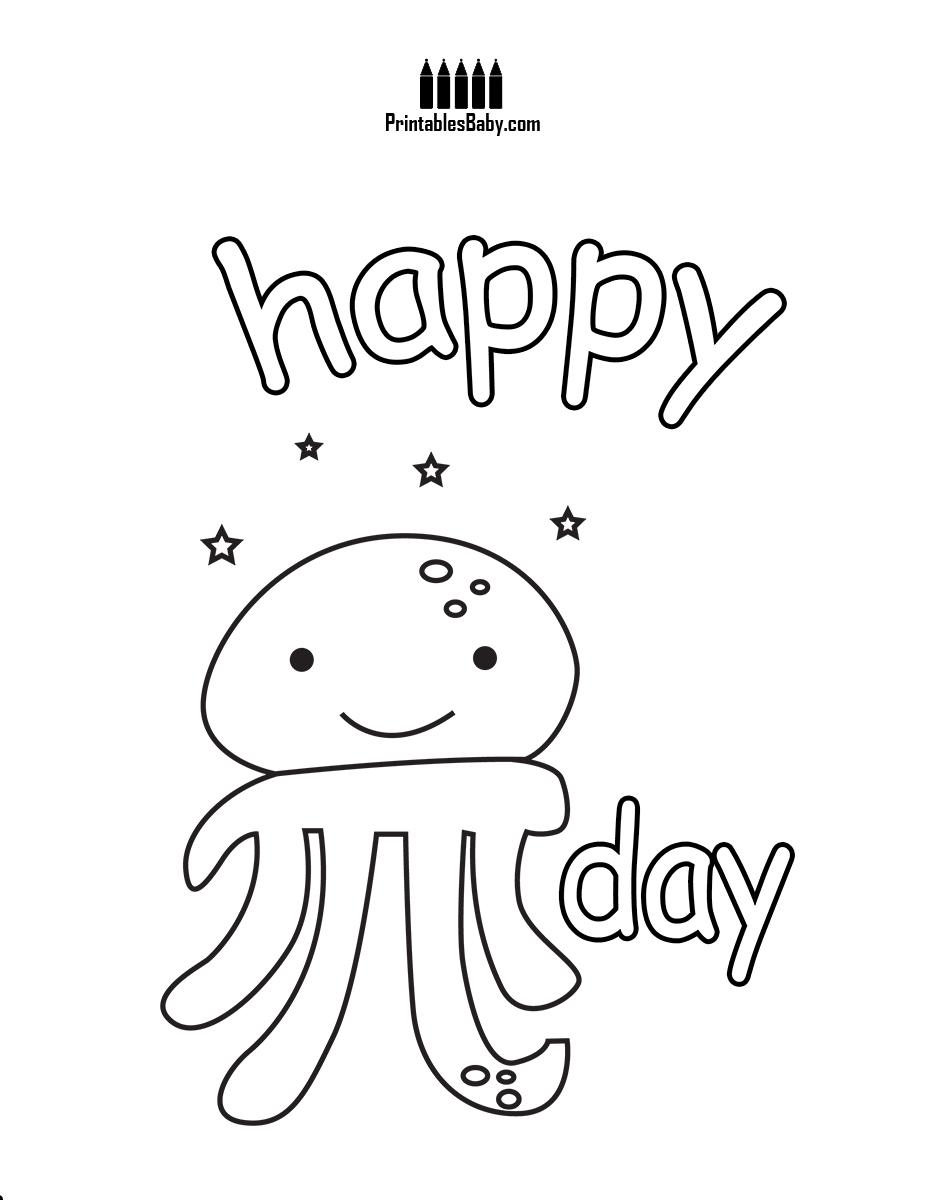 927x1200 Smiling Pi Octopus