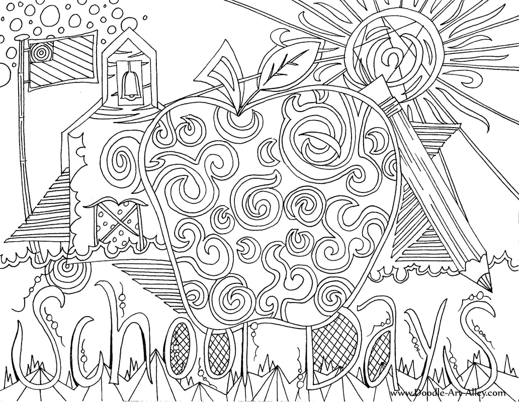 1032x800 Back To School Coloring Pages Printables
