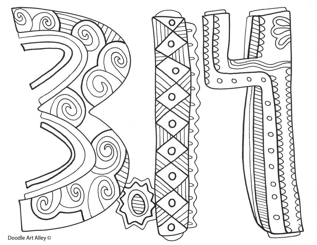 1035x800 Free Coloring Pages And Printables For Celebrating Pi Day Enjoy