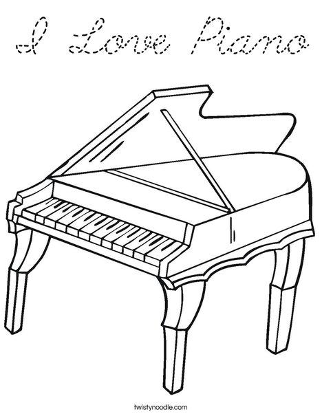 468x605 Grand Piano Coloring Page Mozart Grand Pianos