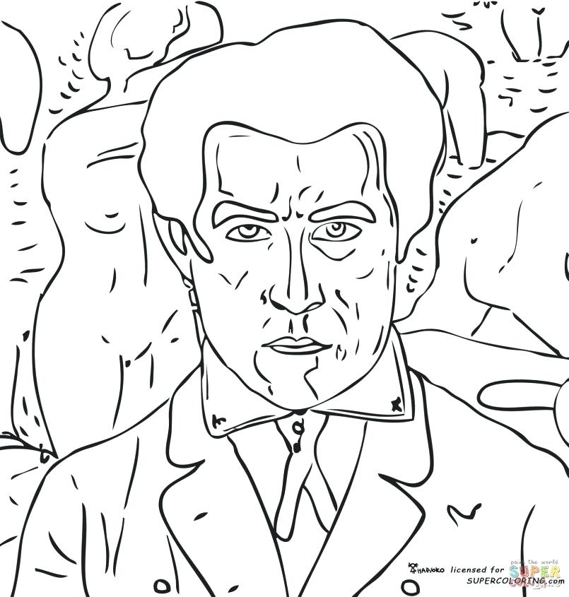 805x845 Pablo Picasso Coloring Pages Coloring Pages Printable Also Face