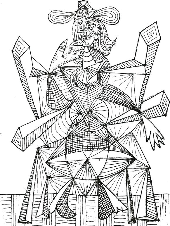 582x773 Pablo Picasso Coloring Pages Coloring Pages Printable As Well As
