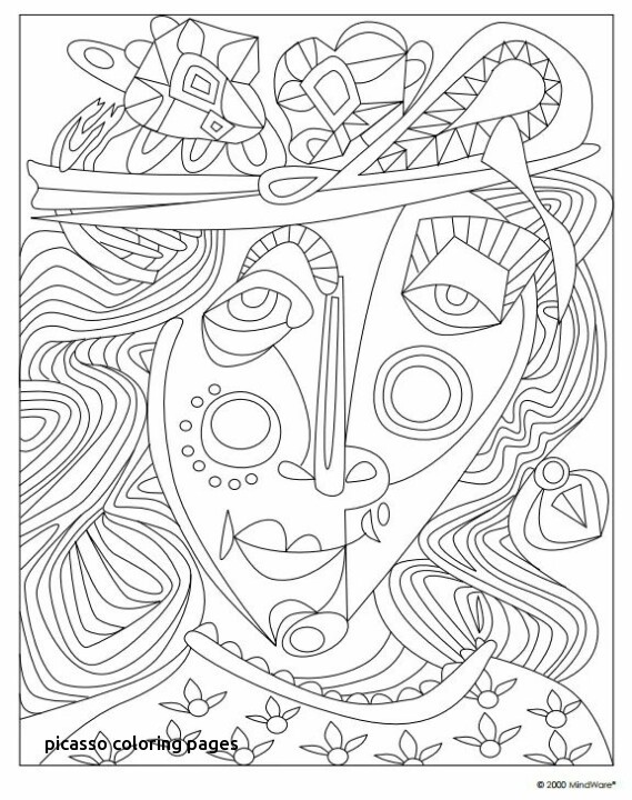 569x720 Picasso Coloring Pages