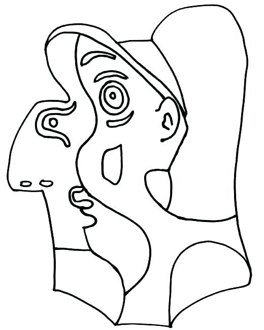 520x651 Picasso Coloring Sheets Adult Coloring Page Picasso Coloring Pages
