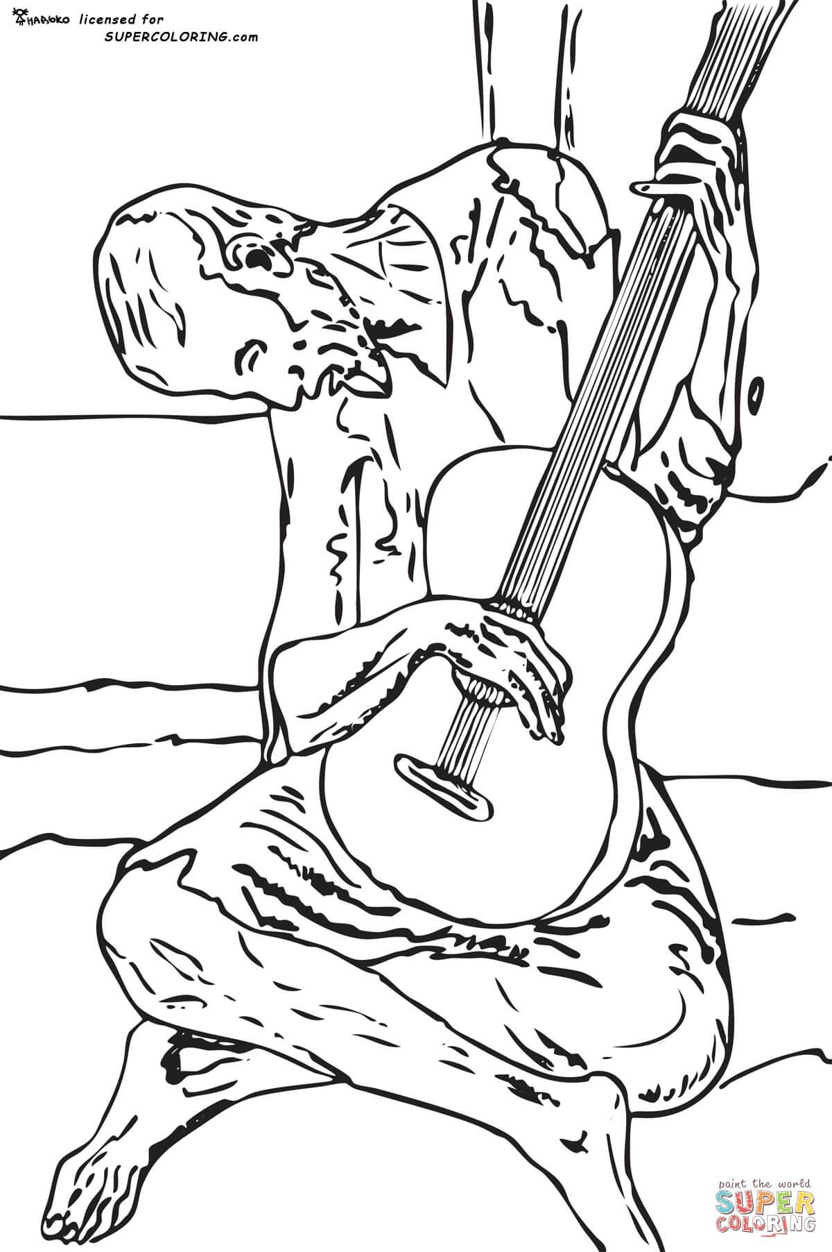 1200x1804 Blue Guitar