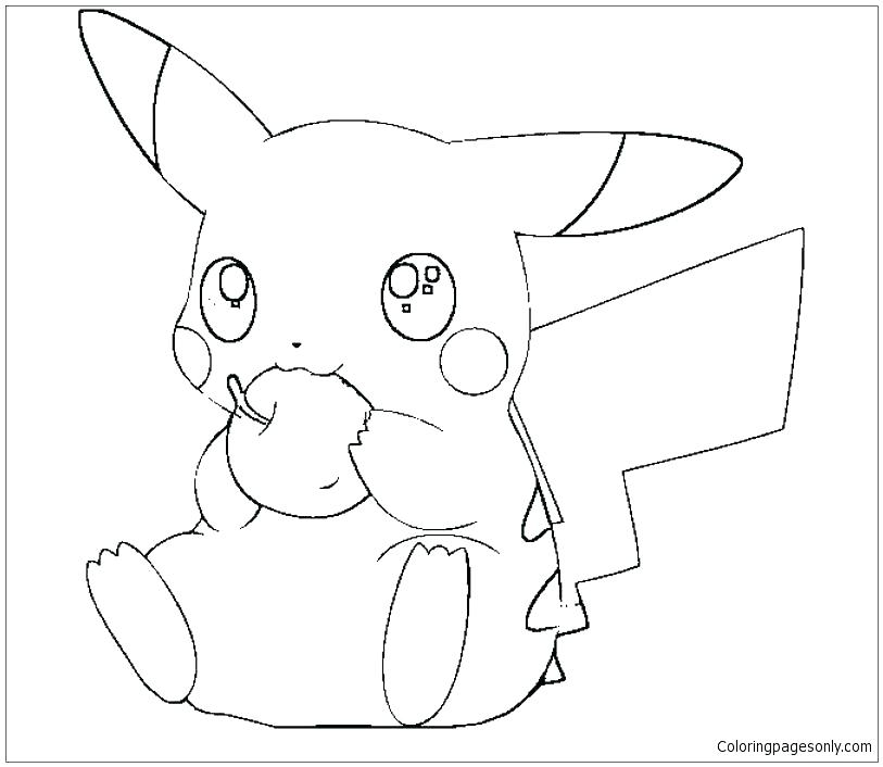 813x706 Pichu Coloring Pages Famous Coloring Pages Ideas Resume Ideas