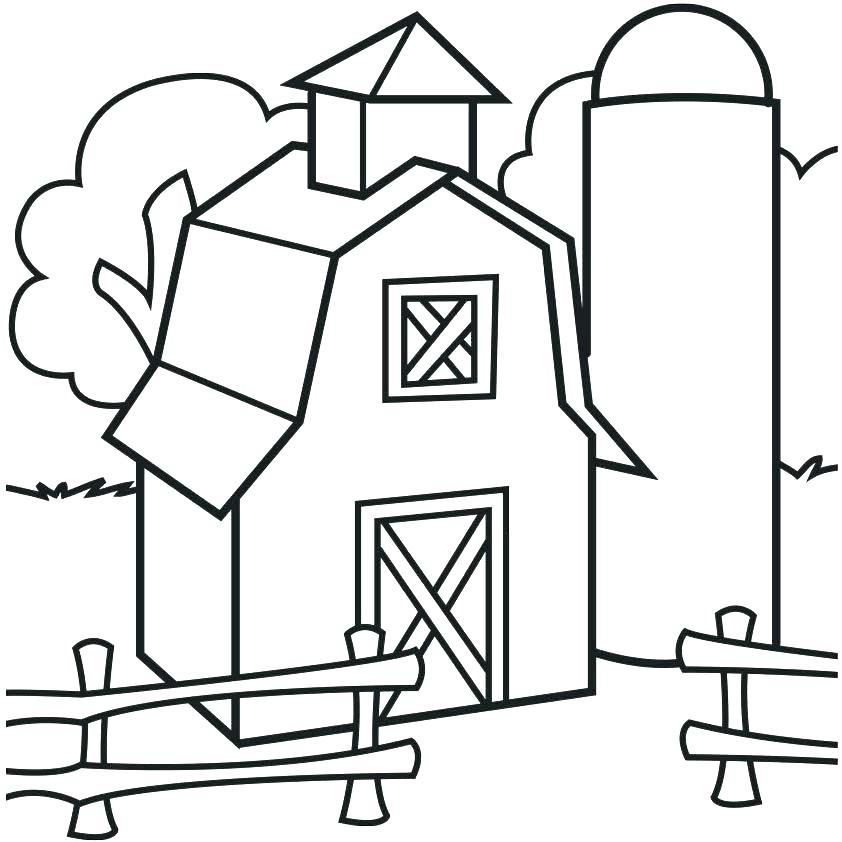 842x842 Fence Post Coloring Pages