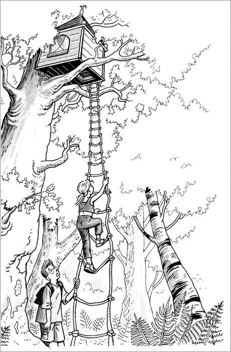 461x701 Image Result For Coloring Page Magic Treehouse Bookworm Party