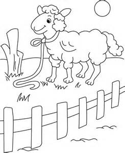 245x300 Young Boywooden Fence Colouring Pages, Fence Coloring Page