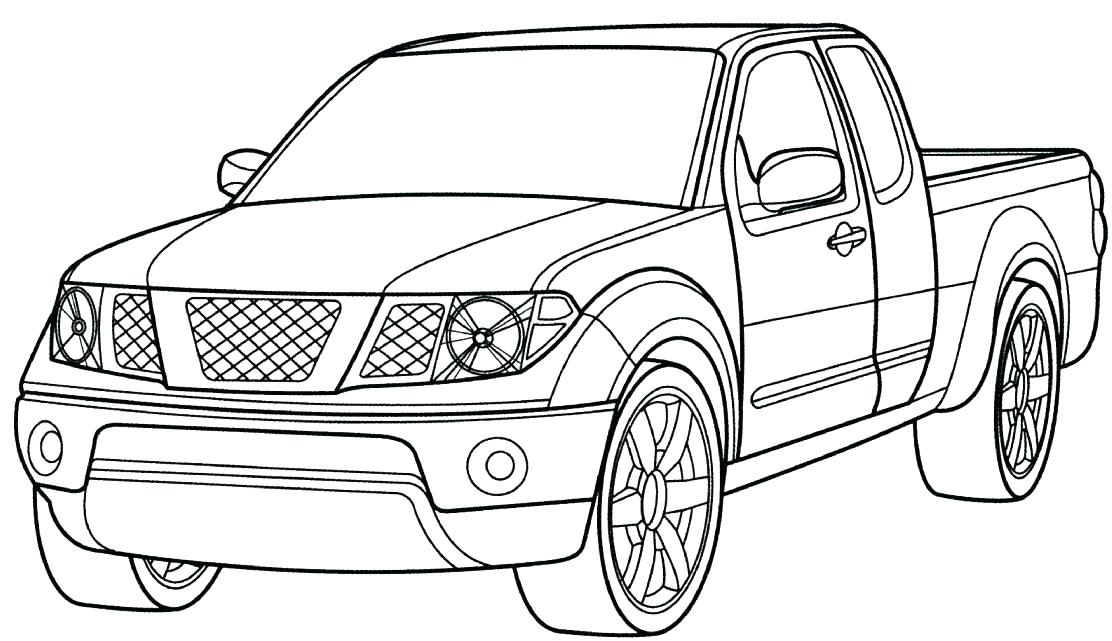 1112x641 Old Pickup Truck Coloring Pages Page P