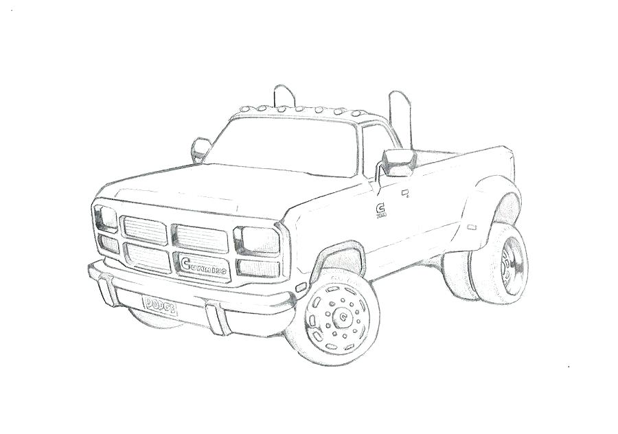900x632 Pick Up Truck Coloring Pages Dodge Fire Cars And Trucks Car