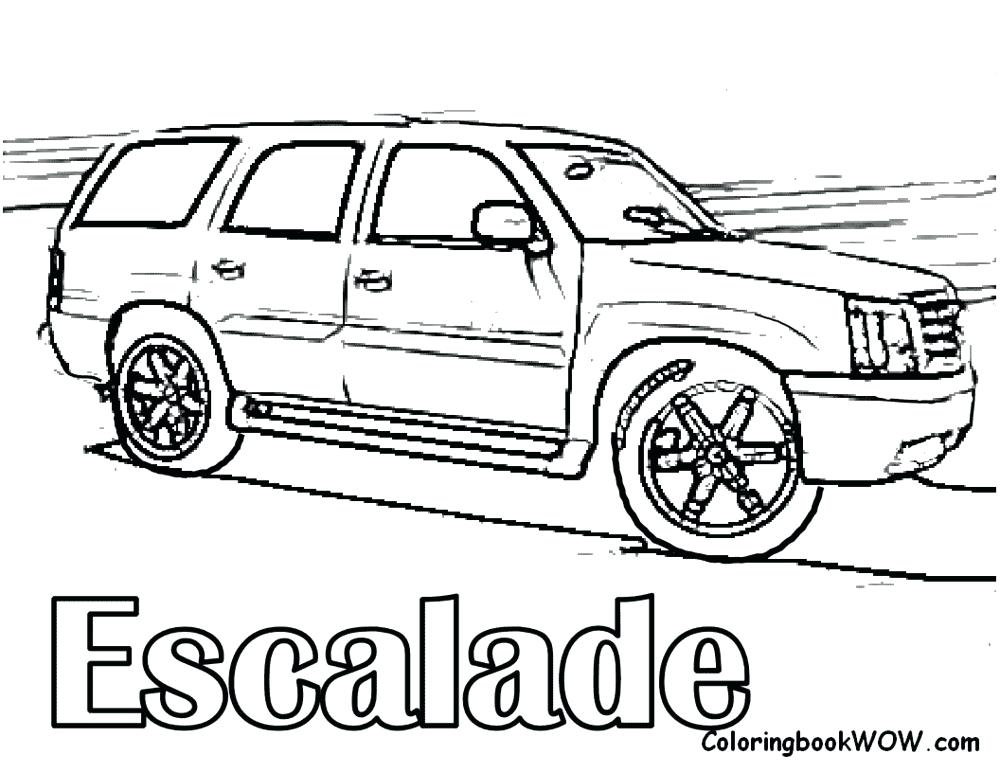 1000x773 Chevy Pickup Truck Coloring Pages Blazer