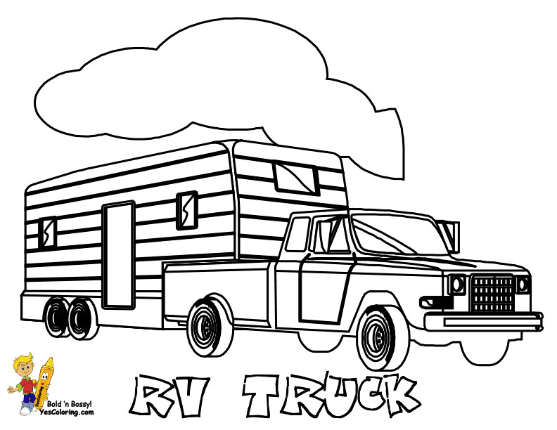 792x612 Epic Pick Up Truck Coloring Pages In Page With Colouring Sheets