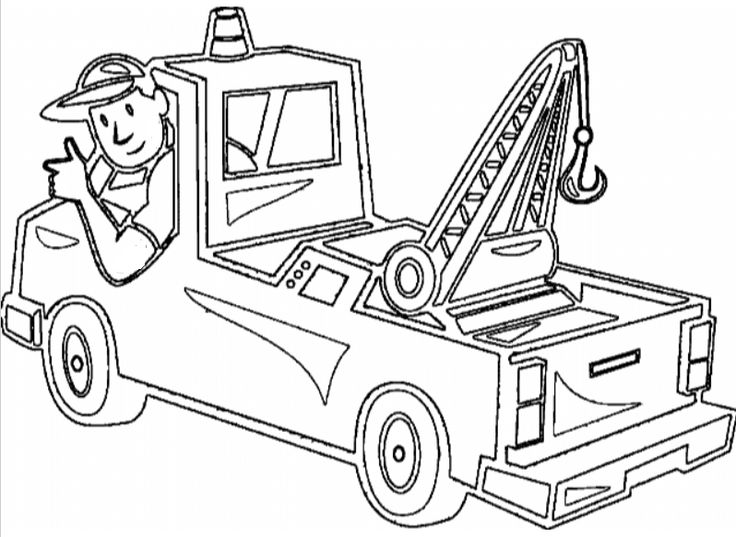Pickup Truck Coloring Pages Printable