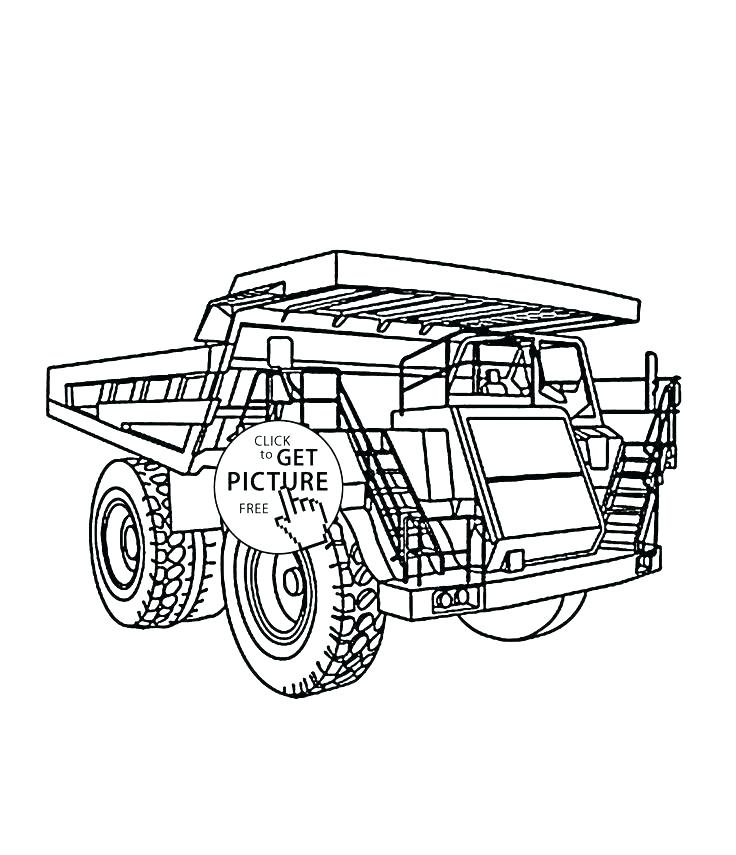 736x855 Monster Truck Loco Coloring Page Download Print Online Monster