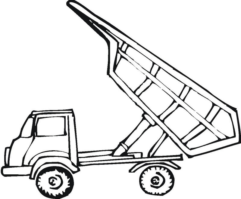 800x662 Pick Up Truck Coloring Pages