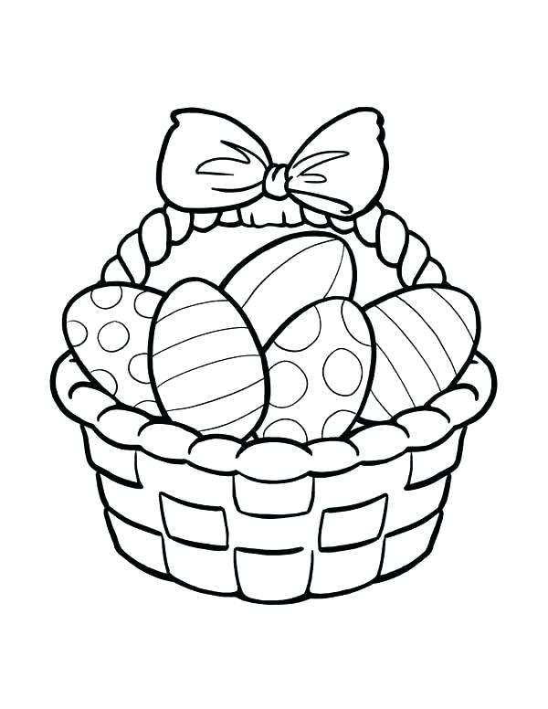 600x776 Picnic Basket Coloring Page Basket Coloring Page Basket Coloring