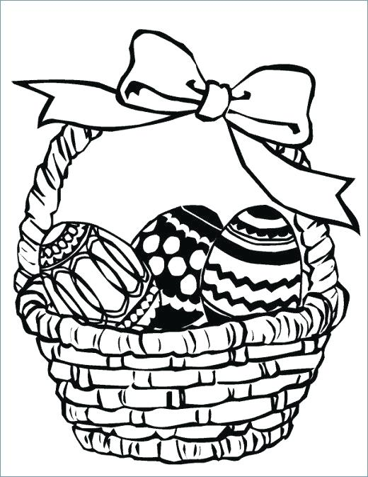 520x673 Picnic Basket Coloring Page Basket Coloring Pages Printable Fruit